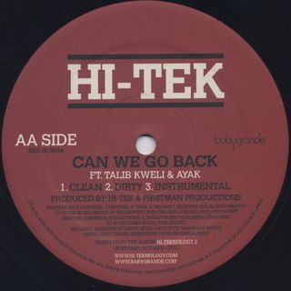Hi-Tek / Where It Started At [NY] label
