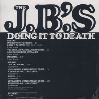 J.B.'s / Doing It To Death back