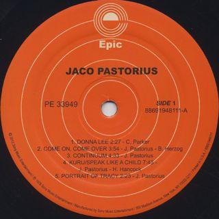 Jaco Pastrius / S.T. label