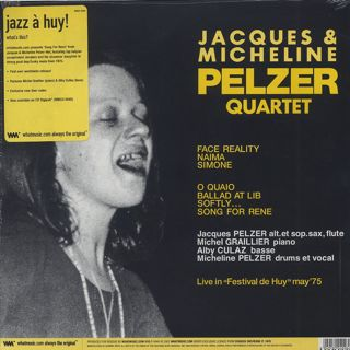Jacques & Micheline Pelzer Quartet / Song For Rene back