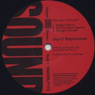 Jay-U Experience / Enough Is Enough label