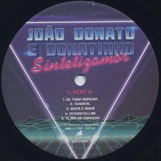 Joao Donato E Donatinho / Sintetizamor label