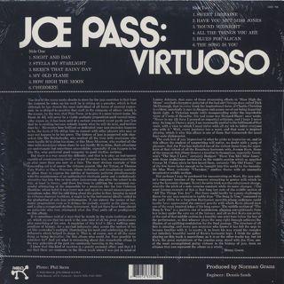 Joe Pass / Virtuoso back