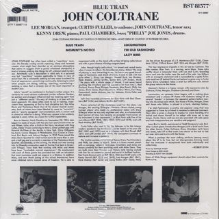 John Coltrane / Blue Train back