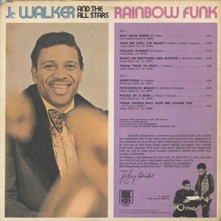 Jr. Walker And The All Stars / Rainbow Funk back