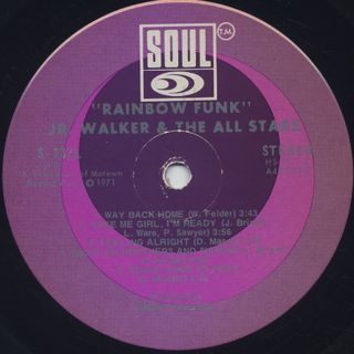 Jr. Walker And The All Stars / Rainbow Funk label