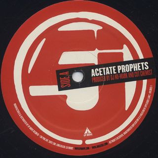 Jurassic 5 / Acetate Prophets c/w Swing Set back