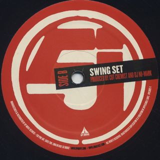 Jurassic 5 / Acetate Prophets c/w Swing Set label