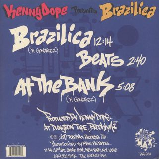 Kenny Dope / Brazilica back