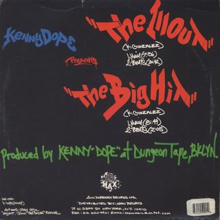 Kenny Dope / The Illout back