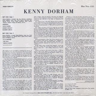 Kenny Dorham / Afro-Cuban back
