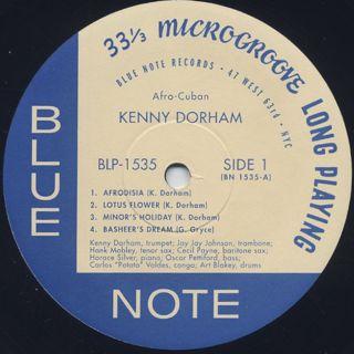 Kenny Dorham / Afro-Cuban label