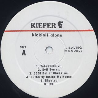 Kiefer Shackelford / Kickinit Alone label