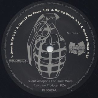 Killarmy / Silent Weapons For Quiet Wars label