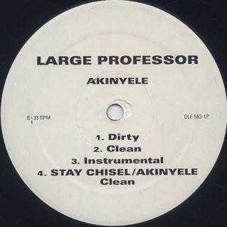 Large Professor / Stay Chisel back