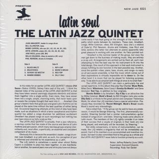 Latin Jazz Quintet / Latin Soul back