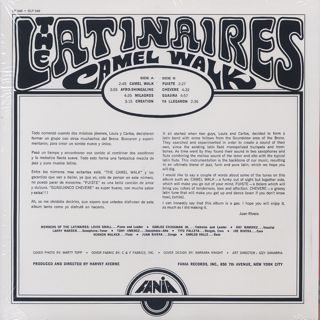 Latinaires / Camel Walk back