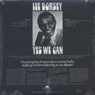 Lee Dorsey / Yes We Can back