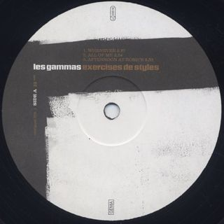 Les Gammas / Exercices De Styles label