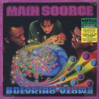 Main Source / Breaking Atoms (2LP)