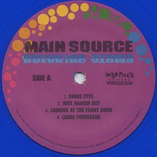 Main Source / Breaking Atoms (2LP) label