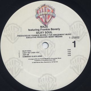 Maze featuring Frankie Beverly / Silky Soul label