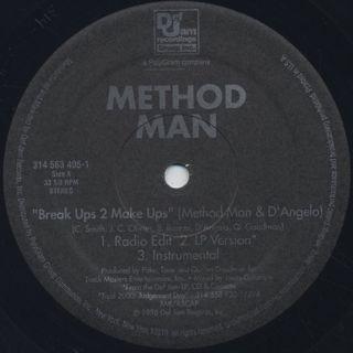Method Man / Break Ups 2 Make Ups label