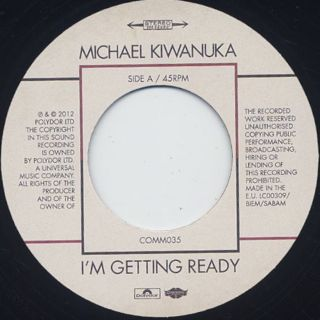 Michael Kiwanuka / I'm Getting Ready label