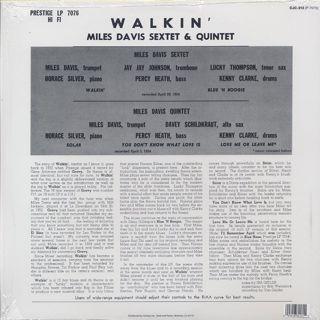 Miles Davis All Stars / Walkin' back