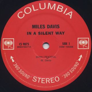 Miles Davis / In A Silent Way label