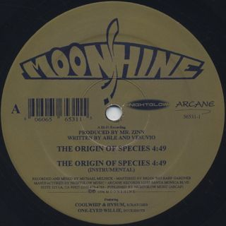 Moonshine / Origin Of Species back