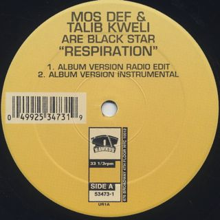 Mos Def & Talib Kweli Are Black Star / Respiration label