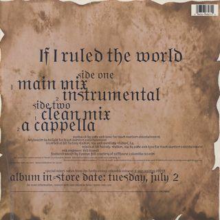 Nas / If I Ruled the World back