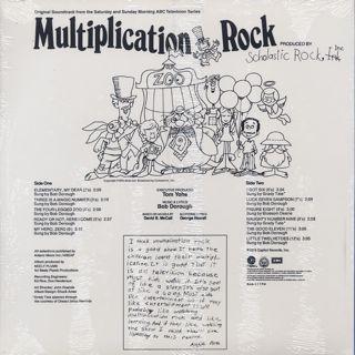 O.S.T.(Bob Dorough) / Multiplication Rock back