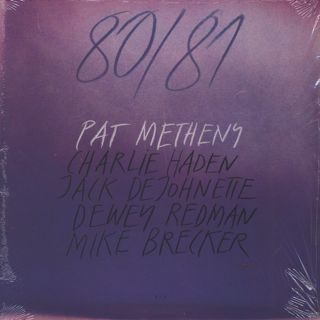 Pat Metheny / 80/81