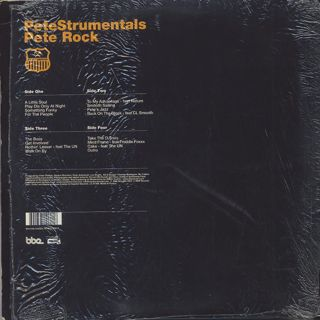 Pete Rock / PeteStrumentals (2LP) back