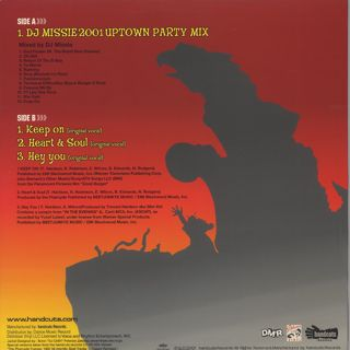 Pharcyde / DJ Missie 2001 Uptown Party Mix EP back