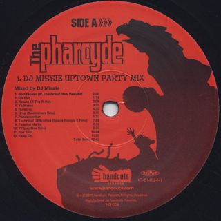 Pharcyde / DJ Missie 2001 Uptown Party Mix EP label