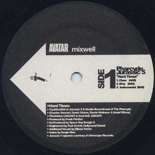 Pharcyde & Jurassic 5 / Ras Kass / Hard Times / Verbal Murder label