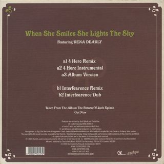 Plant Life / When She Smiles She Lights The Sky back
