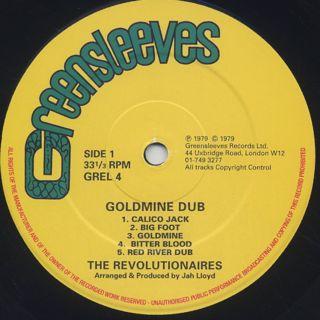 Revolutionaires / Goldmine Dub label