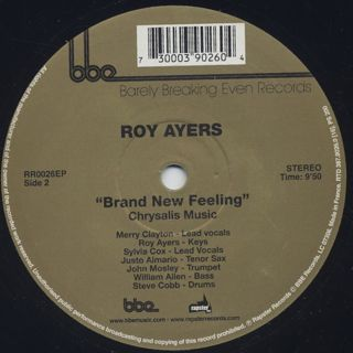 Roy Ayers / Searching (The Africa 70 Version) label