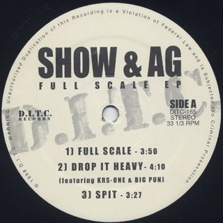 Show & AG / Full Scale EP label