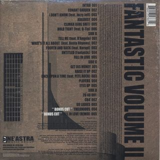 Slum Village / Fantastic Volume II back