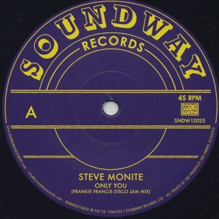 Steve Monite / Only You back