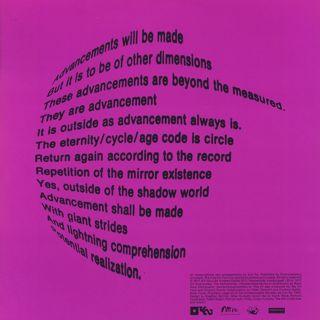 Sun Ra / The Mike Huckaby Reel-To-Reel Edits Vol. 1 back