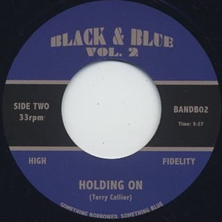 Terry Callier / Holding On back