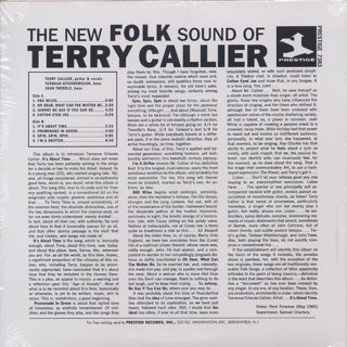 Terry Callier / The New Folk Sound Of Terry Callier back