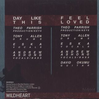 Theo Parrish / Tony Allen / Day Like This / Feel Loved back