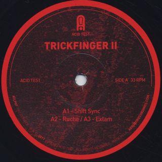 Trickfinger / Trickfinger II label